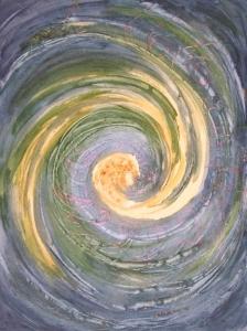 Galaxie, 30 cm x 40 cm