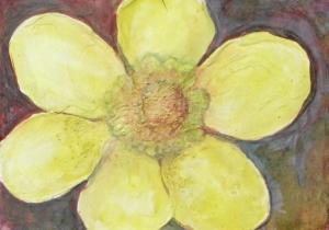 Frühlingsbote, 17 cm x 24 cm
