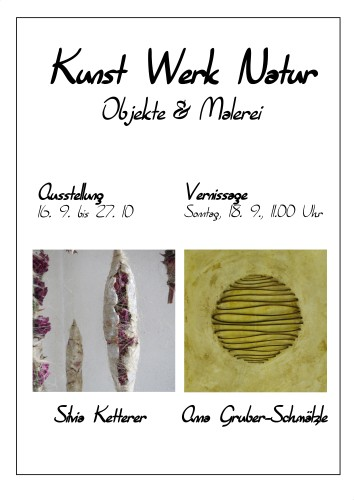 Doppelausstellung Gruber Ketterer (1) Plakat500
